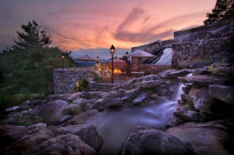 Grove Park Inn Spa and Waterfall