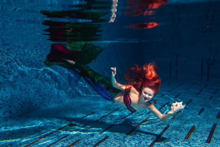 Costumed mermaids Weeki Wachee Springs State Park
