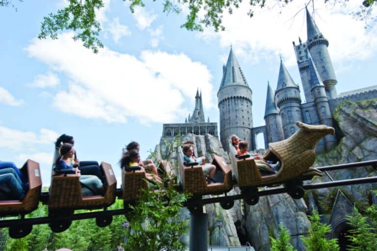 Hippogriff Ride Universal Studios